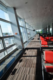 Seats in airport Royalty Free Stock Images