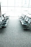 Seats in an airport waiting room or lounge Royalty Free Stock Photos
