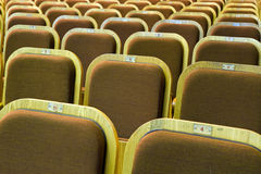 Seats of auditorium Royalty Free Stock Photos