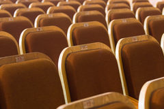 Seats of auditorium Stock Photography
