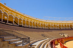 Seats of bullfight arena,  Sevilla, Spain Stock Photography