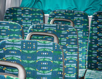 Seats in the bus Royalty Free Stock Photo