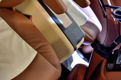Seats of business vehicle Stock Image