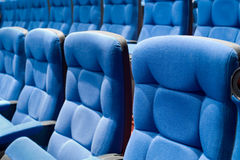 Seats in cinema Royalty Free Stock Photos