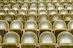 Seats in the cinema Royalty Free Stock Photography