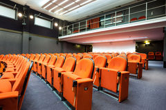 Seats in the cinema Stock Images
