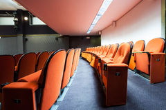 Seats in the cinema Royalty Free Stock Photos