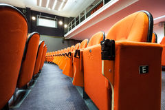 Seats in the cinema Stock Photography