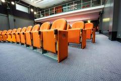 Seats in the cinema Stock Photos