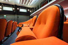 Seats in the cinema Royalty Free Stock Photo