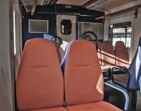 Seats in a coach Royalty Free Stock Photos