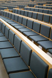 Seats in a conference room Stock Images