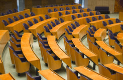 Seats in the Dutch Parliament Royalty Free Stock Image