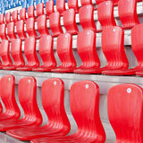 Seats for fans Royalty Free Stock Photo