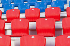 Seats for fans Stock Images