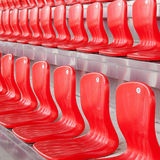 Seats for fans Stock Photos