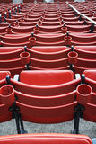 Seats at Fenway Park Royalty Free Stock Photos