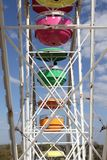 Seats at a ferris wheel Royalty Free Stock Photography