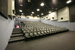 Seats in a hall Stock Photography