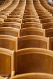 Seats in a hall Stock Photos