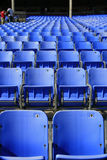 Seats at Lowes Motor Speedway. In Concord, NC Stock Photo