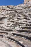 Seats at Miletus amphitheater Royalty Free Stock Photo