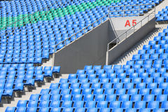 Seats in a modern sports venues Stock Images