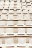 Seats in outdoor auditorium. Stock Image