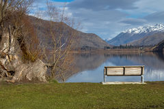 Seats in Queenstown Royalty Free Stock Images
