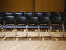 Seats row in seminar room Business Education concept Stock Images