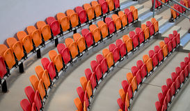 Seats on sports center Royalty Free Stock Photography