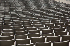 Seats in stadium Royalty Free Stock Images