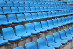 Seats in stadium Royalty Free Stock Image