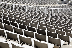 Seats at stadium Stock Photography