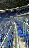 Seats in a stadium 2. Seats in a football stadium Royalty Free Stock Photo