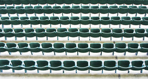 Seats in a stadium Royalty Free Stock Images