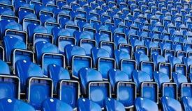 Seats on stadium Stock Image