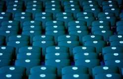 Seats in a stadium Royalty Free Stock Photography