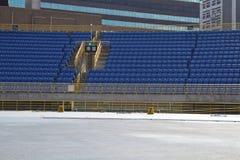Seats of stadium Royalty Free Stock Photos