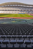 Seats and The stadium Royalty Free Stock Photos