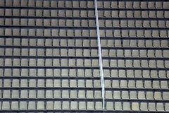 Seats at the stadium Royalty Free Stock Photography