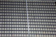 Seats at the stadium Stock Image