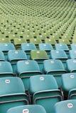 Seats in stadium Stock Image