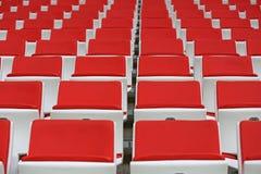Seats at the stadium Royalty Free Stock Photo