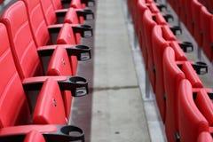 Seats at the stadium Royalty Free Stock Image