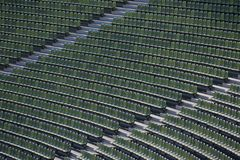 Seats of a Stadium Stock Photography