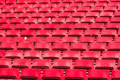 Seats at stadium Royalty Free Stock Photography