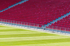 Seats at stadium Royalty Free Stock Image