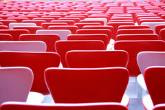 Seats in the stadium. There are a lot of seats in the stadium Royalty Free Stock Image