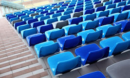 Seats with staircase aside Stock Images